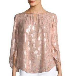 """LILLY PULITZER """"Beccer"""" Top in Sandstone"""